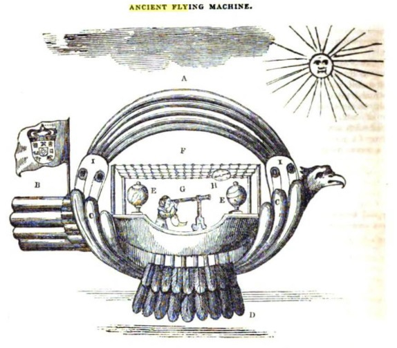«Магнитный» летающий корабль 1709 года, изображение №9