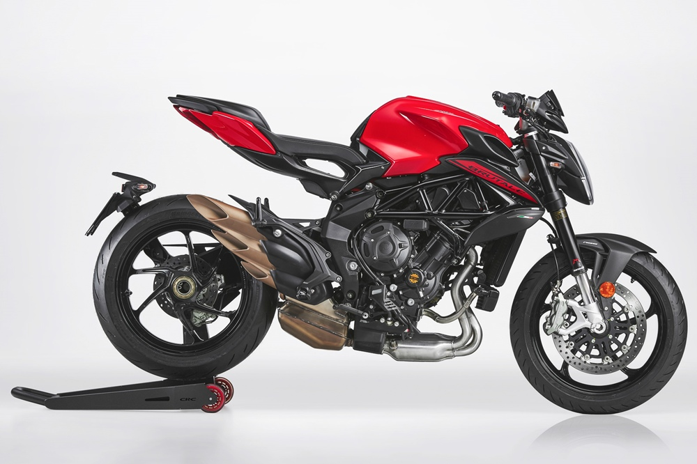 Мотоциклы MV Agusta Brutale 800 2021:  Rosso, RR и RR SCS