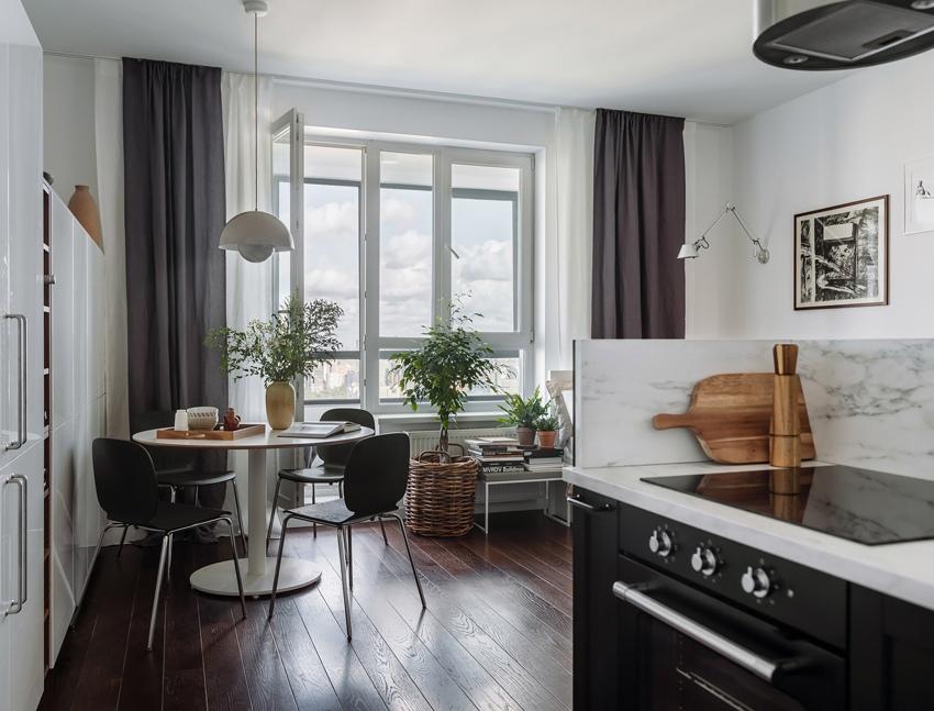 Интерьер квартиры-студии почти 36 кв.