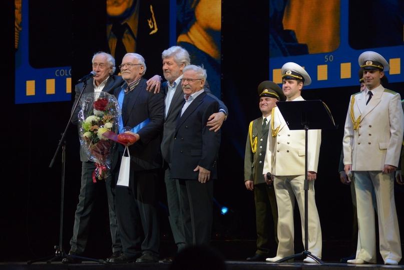 Друзья-товарищи: Сергей Мигицко, Борис Невзоров, Сергей Паршин и Сергей Никоненко