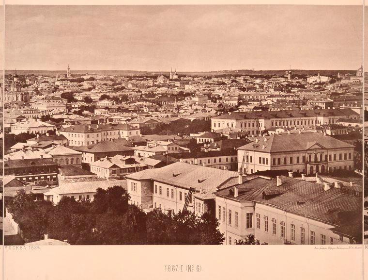 Москва без людей в 1867 году. Где все люди?, изображение №19