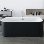 Ванная отдельностоящая Duravit Happy D.2 Plus, Graphite Supermatt (Германия)