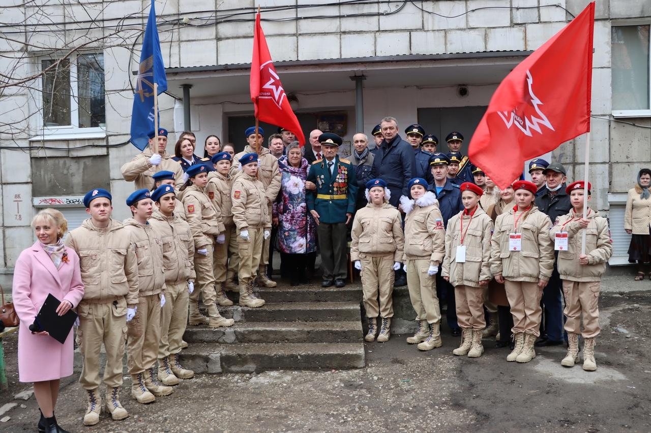 95-летний юбилей участника Великой Отечественной войны Булдакова Виталия Алексеевича