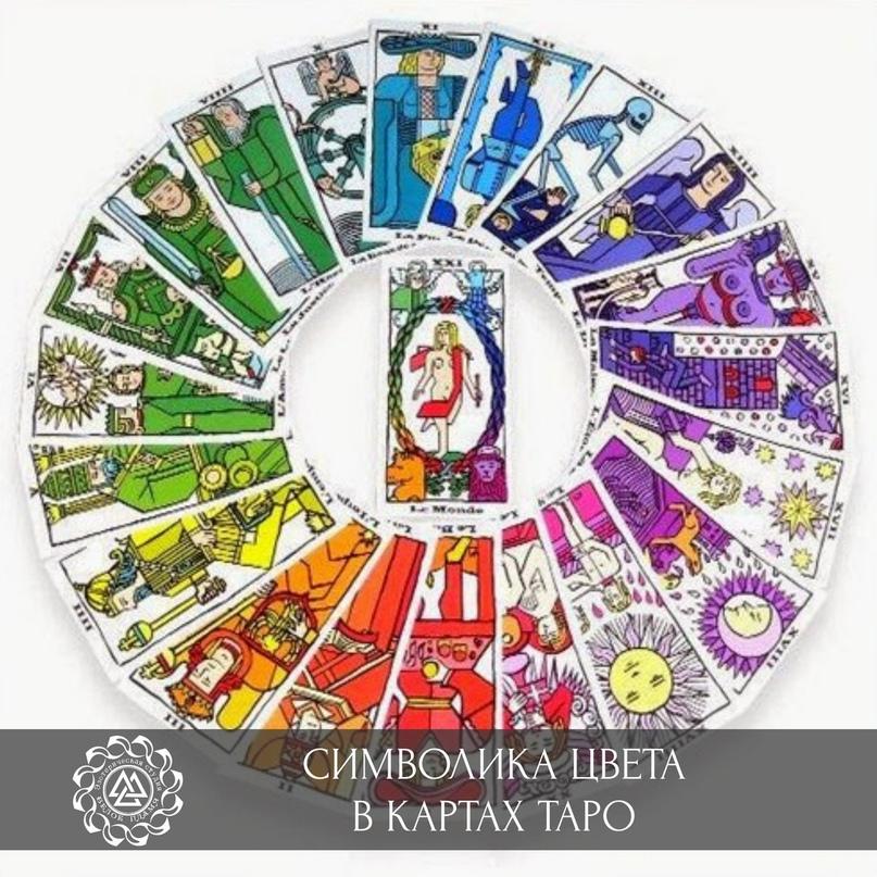 Символика цвета в картах Таро: