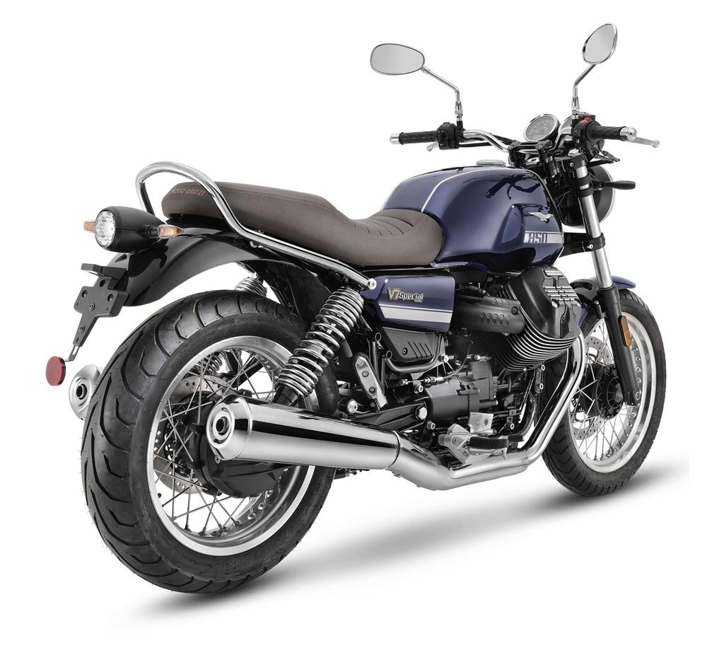 Модельный ряд Moto Guzzi V7 2021 получил необходимые обновления