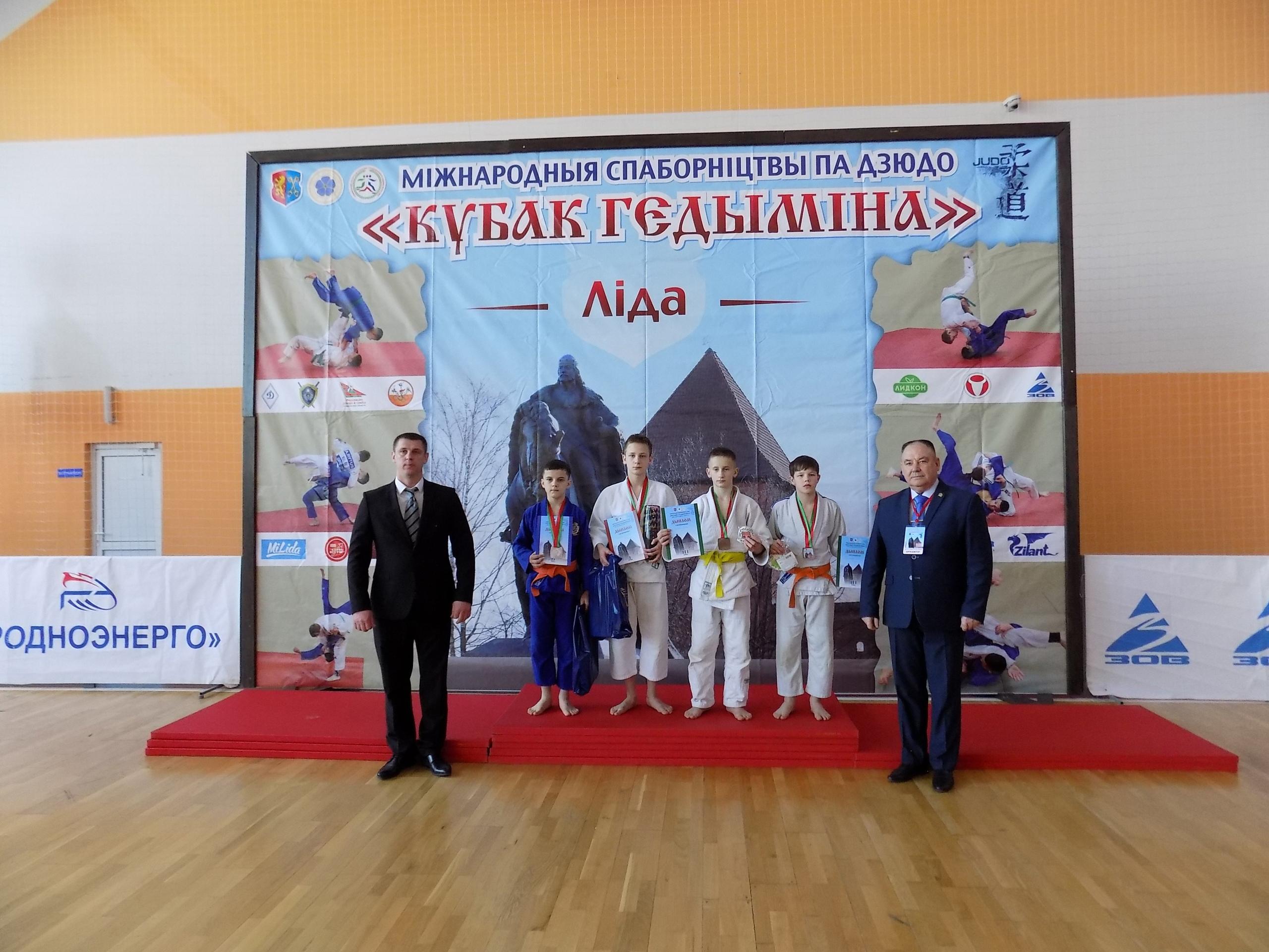 Традиционный республиканский турнир по дзюдо «Кубок Гедимина» прошел в Лиде.