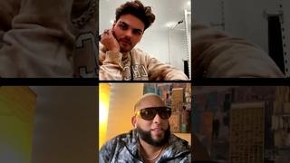 Abraham Mateo junto a Obrin - Instagram Live (18-03-21)
