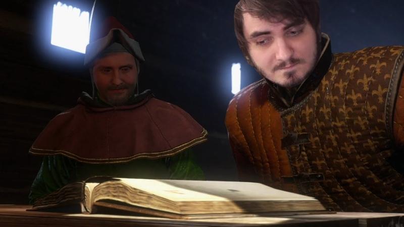 Мэддисон играет в Kingdom Come Deliverance 7 Братва учится читать