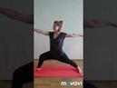 Зарядка в стиле йога