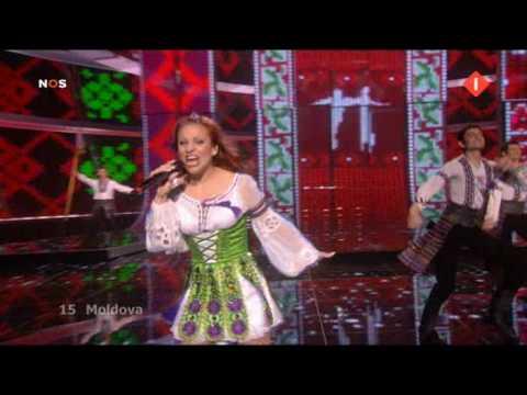 Moldova Nelly Ciobanu Hora Din Moldova 2nd Semifinal Eurovision 2009