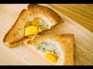 Легкий способ приготовления корейского яичного тоста