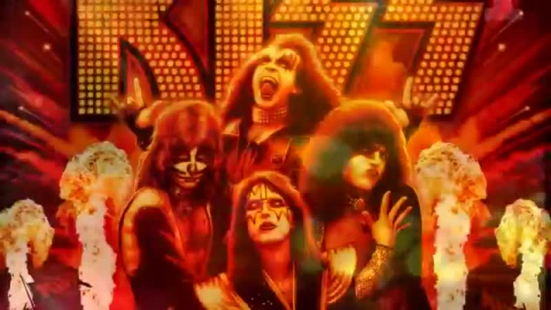 Kiss - I was made for lovin you -official video clip (HD)