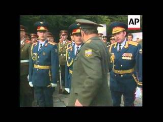 ГСВГ-ЗГВ. Август 1994 г. Подготовка к прощальному параду в Берлине