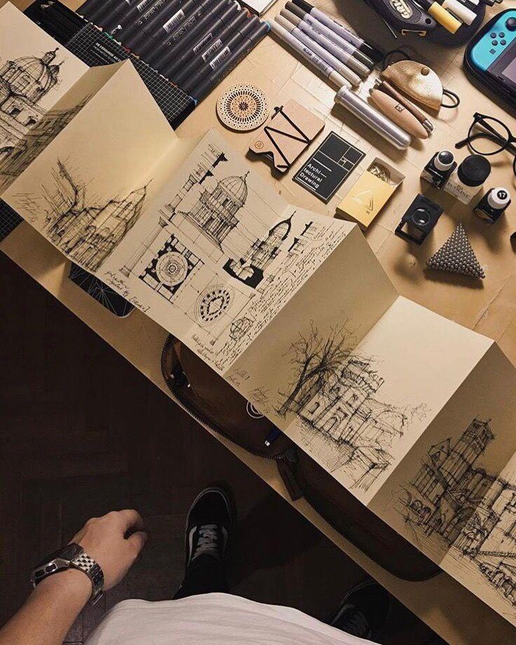 Sketches by Giuliana Flavia Cangelosi