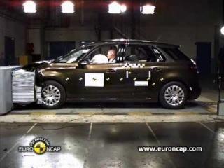 Euro NCAP | Citroen C4 Picasso | 2013 | Crash test