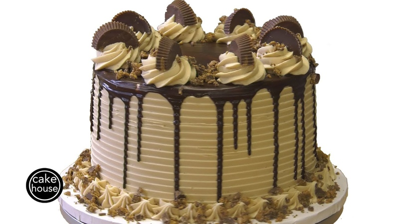 Reese's Peanut Butter Cup Cake Becky's Workbench Ep12
