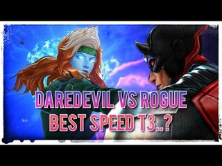 Is DARE DEVIL worth the T3..?!? First look + test against ROGUE..!! MARVEL FUTURE FIGHT