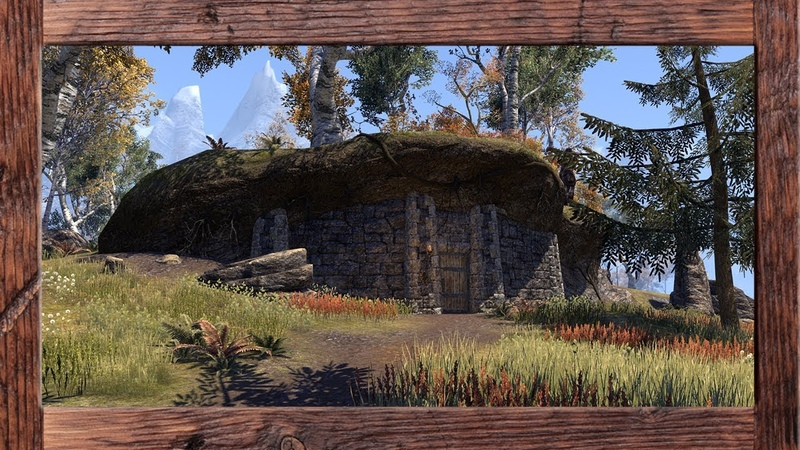 ESO Homestead Hunter's Glade Decorated on the PTS