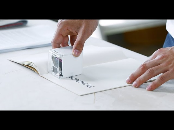 Introducing PrinCube The World's Smallest Mobile Color Printer
