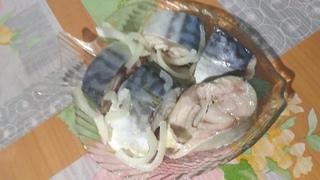 Солёная рыба по рецепту Самвела. Малосольная скумбрия. Рецепт просто находка.