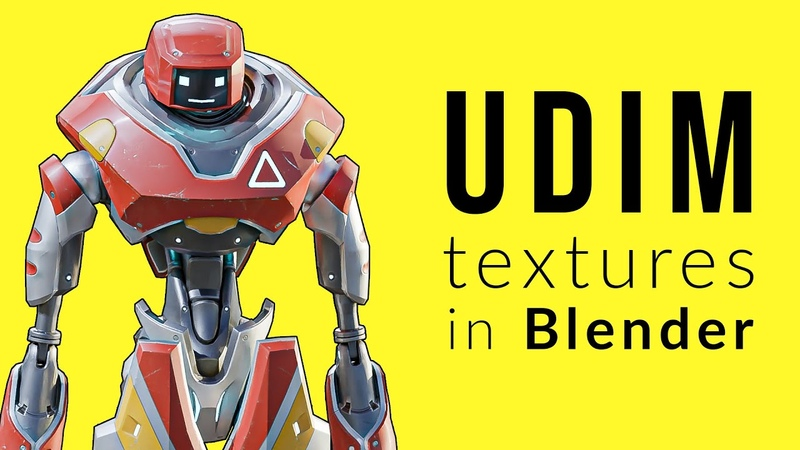 First Look at UDIM Textures in Blender 2.82 Alpha: What They Are and How to Use Them