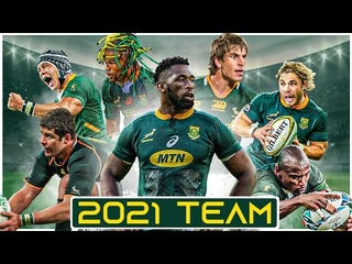 Springbok Rugby Squad Highlights | 46 Man Squad To Face The British & Irish Lions 2021