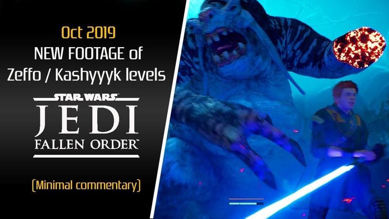 Star Wars Jedi Fallen Order | New Footage Oct 2019 [No Commentary Kinda] Zeffo Kashyyyk