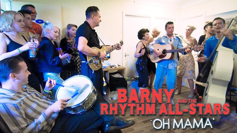 'Oh Mama' BARNY The RHYTHM ALL STARS Wild Records Rockabilly Rave festival BOPFLIX sessions