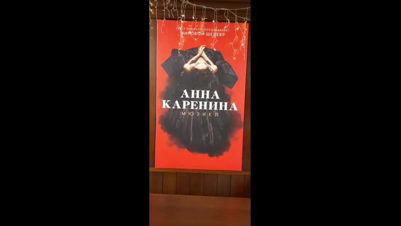 Театр оперетты мюзикл Анна Каренина мне очень понравился ул Большая Дмитровка 19 00 19 11 2020