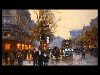 Erik Satie ~ Once Upon A Time In Paris (Artwork by Edouard Leon Cortes)
