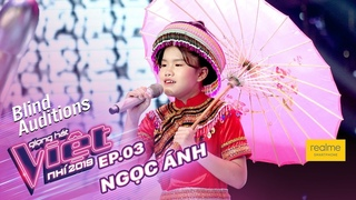 Bùi Ngọc Ánh - Thơ Tình Của Núi   Tập 3 – Vòng Giấu Mặt   The Voice Kids – Giọng Hát Việt Nhí 2019