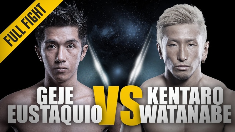 ONE Geje Eustaquio vs Kentaro Watanabe June 2014 FULL FIGHT