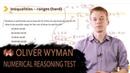 OLIVER WYMAN NUMERICAL REASONING TEST EXPLAINED
