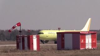 Четвертый опытный самолет МС-21-300 прибыл в Жуковский для продолжения летных испытаний.