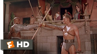 Spartacus (4/10) Movie CLIP - Fight to the Death (1960) HD