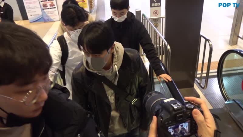 200225 POP TV Yonghwa @ Gimpo Airport heading to Tokyo Japan