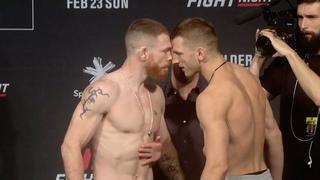 UFC Окленд: Обзор церемонии взвешивания
