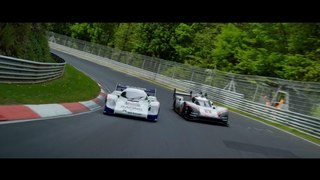919tribute on tour - the 956 and the 919 Hybrid at the 24h Nürburgring