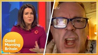'Let Me Finish!' Johnny Rotten Makes His Views on Donald Trump Heard | Good Morning Britain