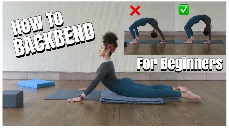 BACKBENDS FOR BEGINNERS | TIPS TUTORIAL | kinkysweat