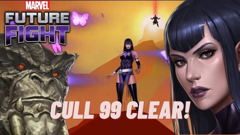 Is Sersi the F2P Gambit Cull Obsidian 99 WBU clear Marvel Future Fight