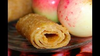 Пастила из яблок! Полезный десерт! Ну, оОчень вкусно!