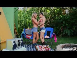 Brianna Ray  Alana Luv - Camp Coochie [Lesbian, MILF, Amateur]