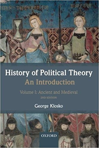 History of Political Theory An Introduction, Volume 1 Ancient and Medieval, 2nd Edition