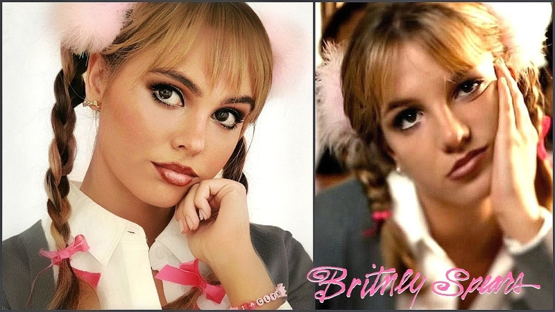 BRITNEY SPEARS …Baby One More Time | 90s Makeup Tutorial