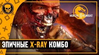 Mortal Kombat 11 - Эпичные X-ray комбо | все Krushing Blow