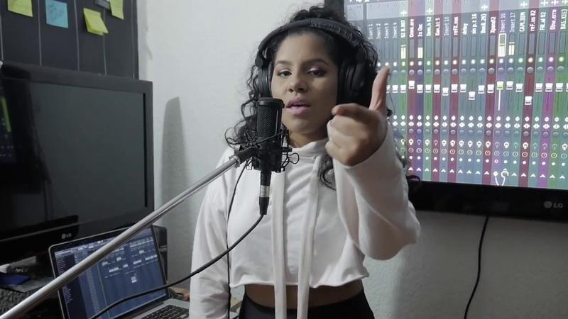 Cover Becky G Natti Natasha Sin Pijama Official Video IZZA