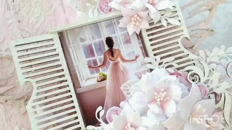 Панно Утро невесты Scrapboking Миксмедиа