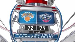 2013 NBA Summer League New York Knicks VS New Orleans Pelicans