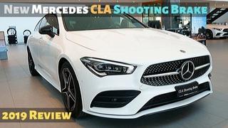 New Mercedes CLA Shooting Brake 2019 Review Interior Exterior